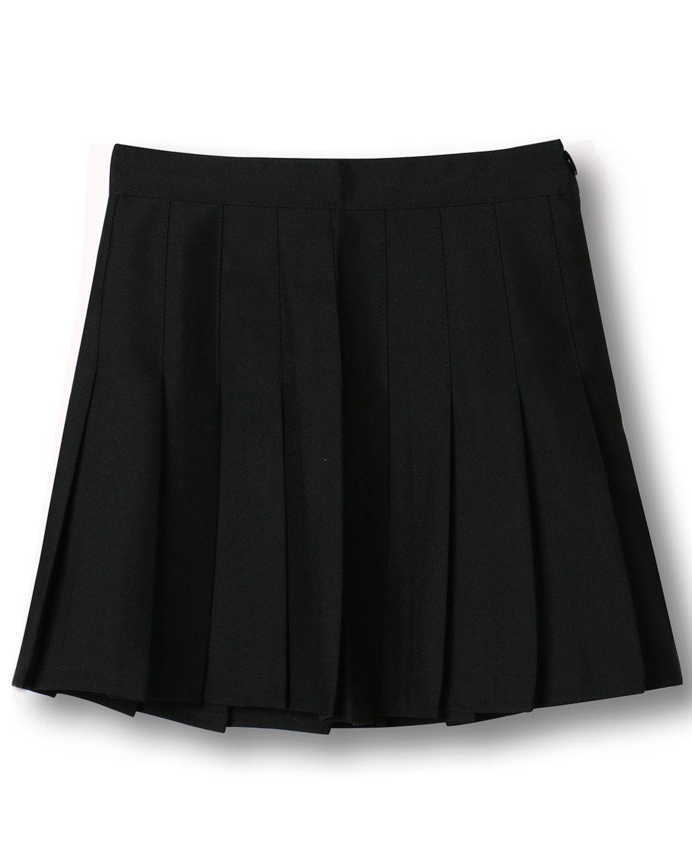 Shop Black High Waist Pleated Mini Skirt from choies.com .Free shipping Worldwide.$15.11