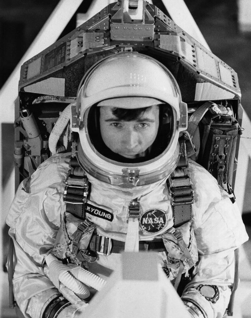 Astronaut John Young | RightAwnSpaceRace | Pinterest ...