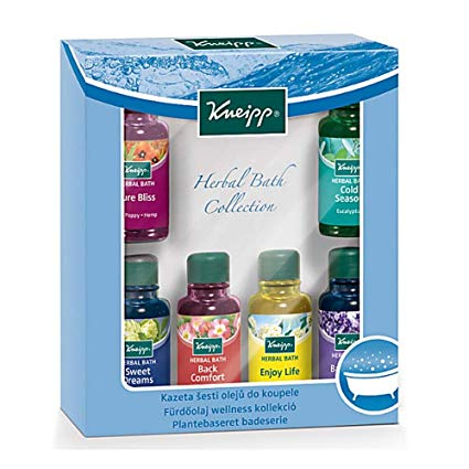 Amazon Com Kneipp 6 Piece Bath Oil Gift Set 120ml Kindle Store In 2020 Herbal Bath Bath Oils Herbal Oil