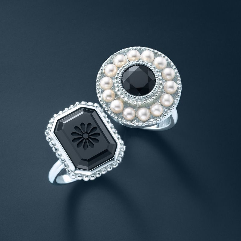 Ziegfeld Collection Rings From Left Daisy Ring And Pearl