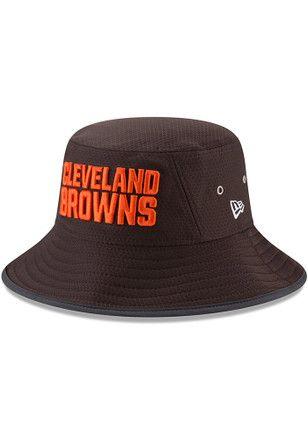 New Era Cleveland Browns Mens Brown 2017 Official Training Flex Hat ... 372654a36