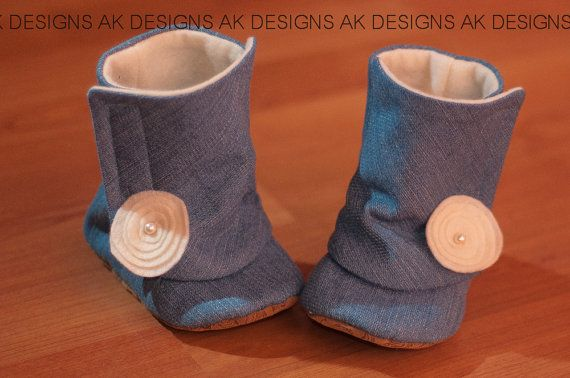 "AK DESIGNS ""Elegant Baby Shoes"" - Little Baily. $30.00, via Etsy."