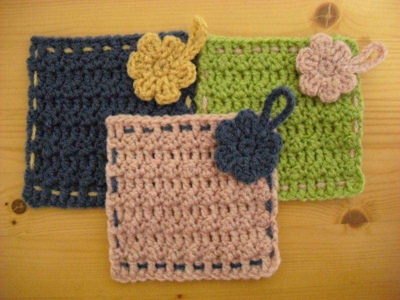 エコ たわし 編み 図 洗剤いらず*可愛くてエコな「アクリルたわし」の作り方・編み方