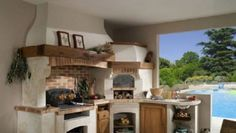 Cucine in muratura fai da te come preparare il progetto taverna