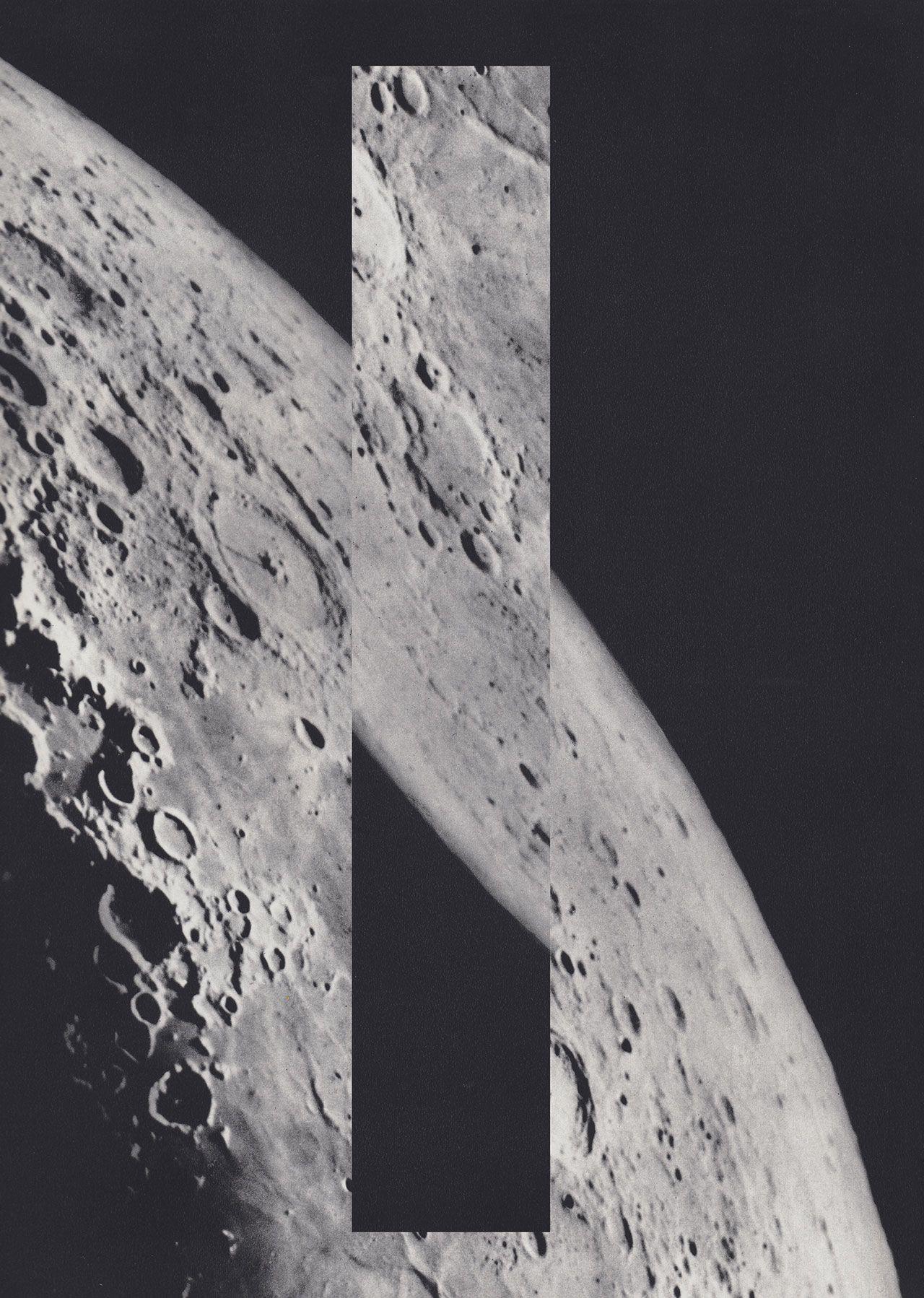Moons series Isolation#1 35x50cm © Luis Dourado.
