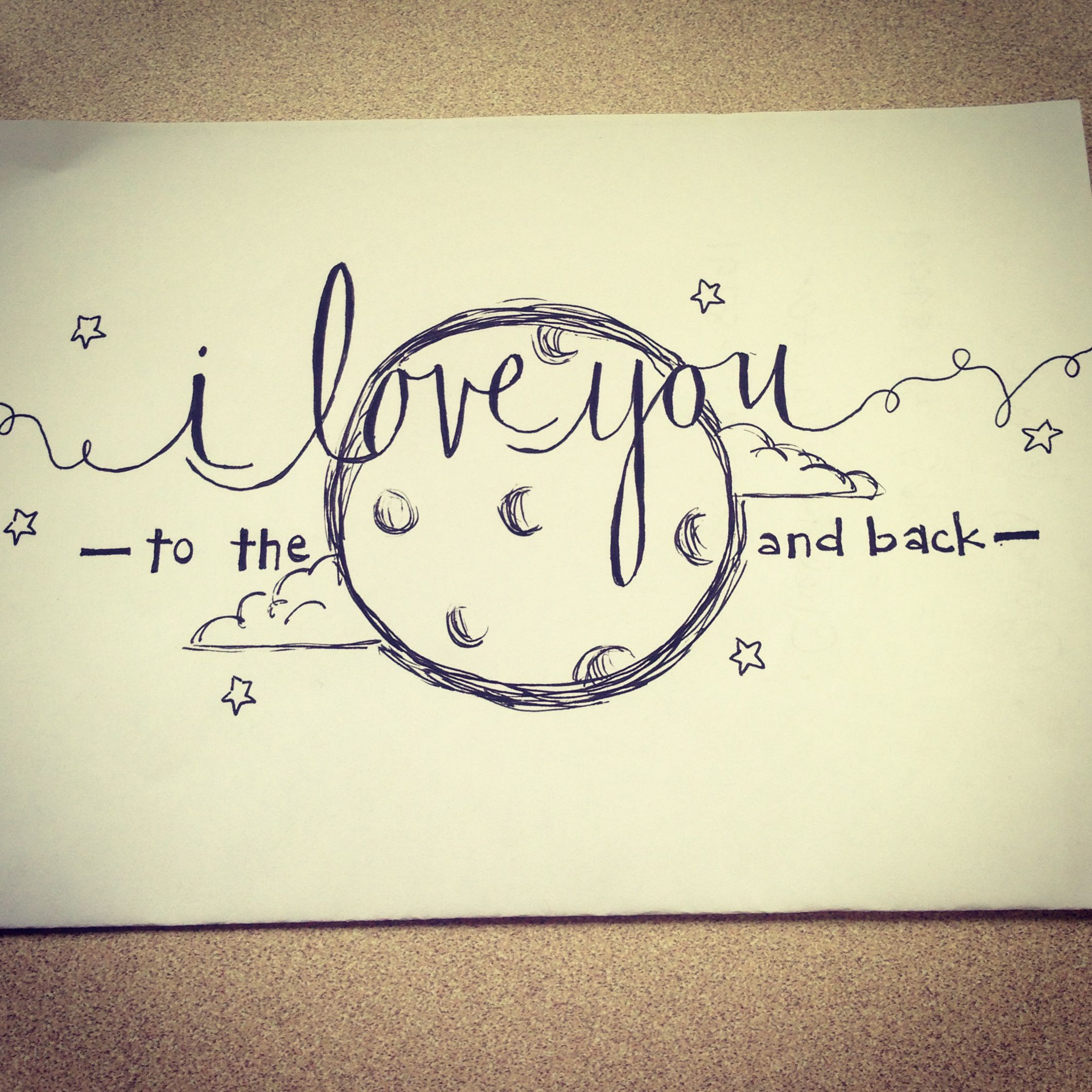 Easy Cute Love Drawings Drawing Love Quote Drawings For Him Also I
