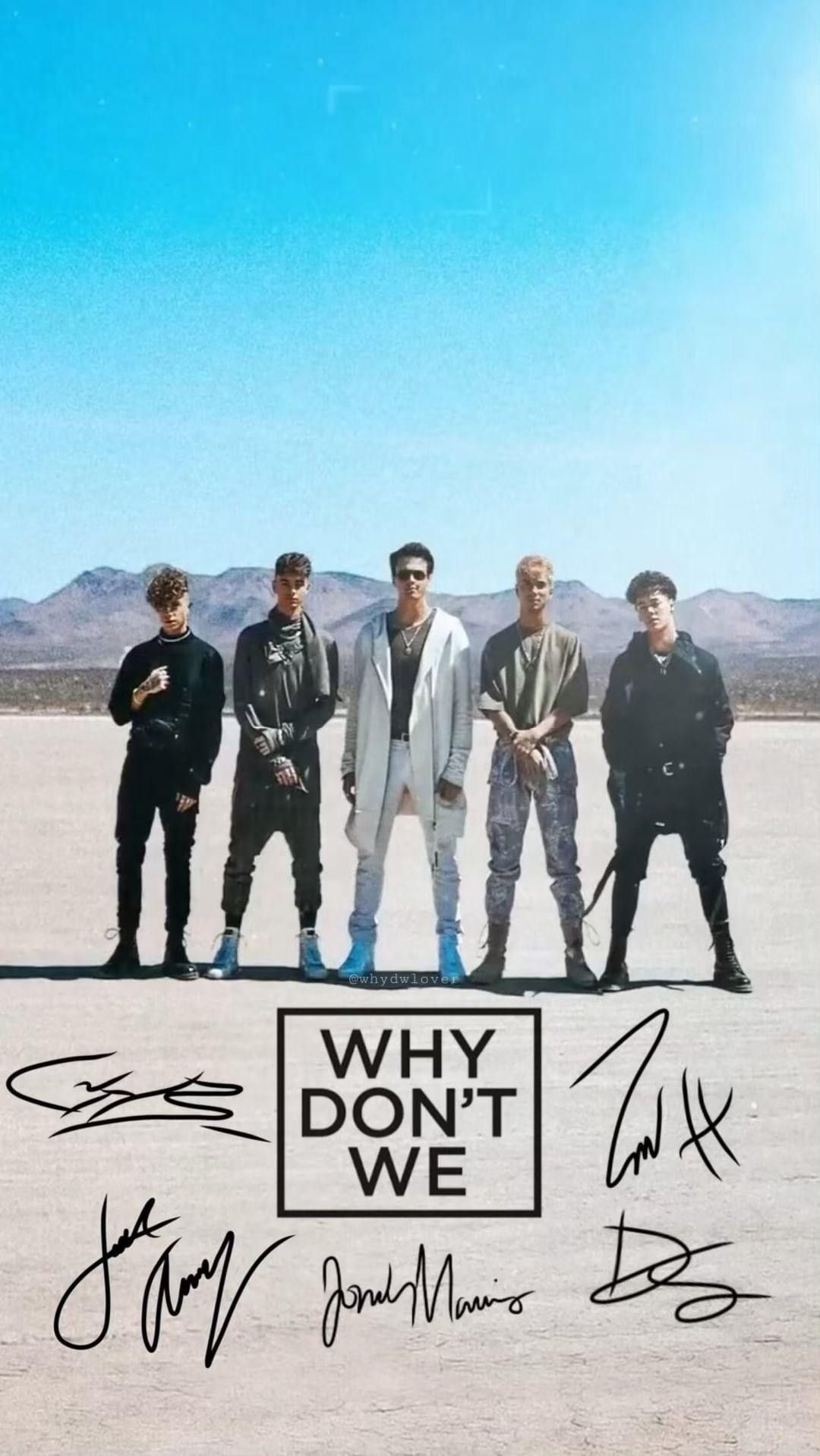 Wallpaper Band Wallpapers Boys Wallpaper Why Dont We Band