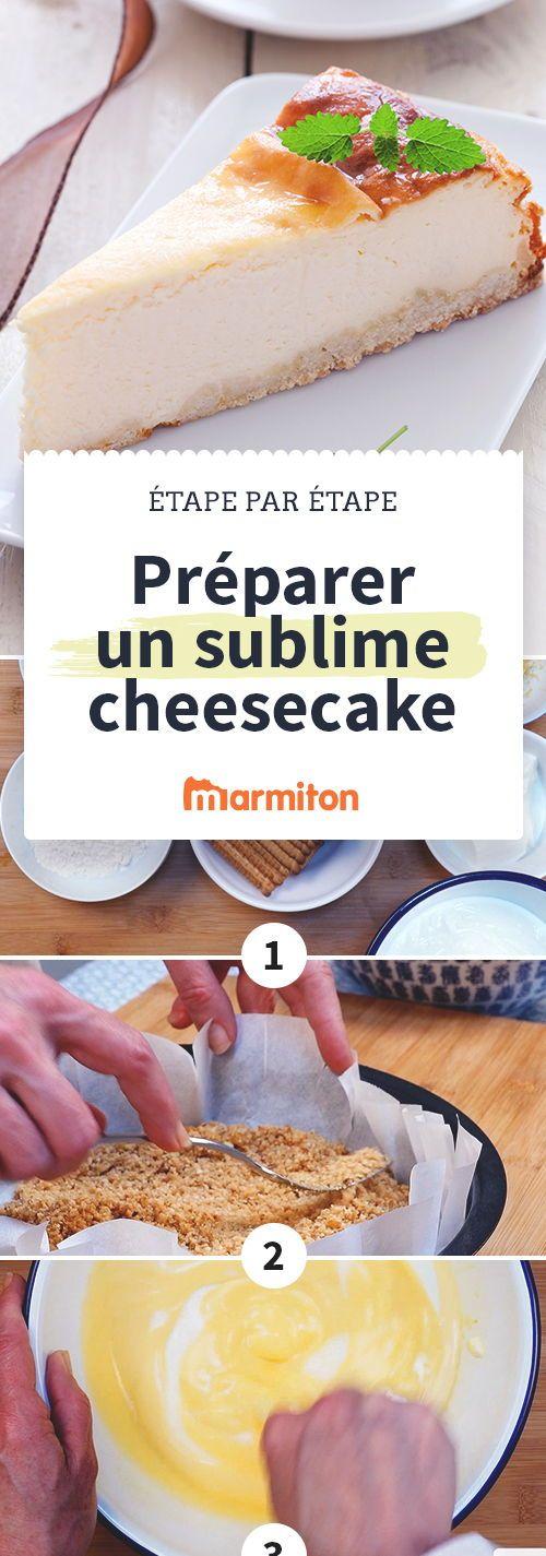 Cheesecake aérien   Recette   Recettes - recipes ...