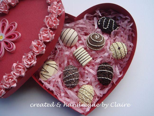 종이감기로 만든 달콤한 쵸콜렛(sweet chocolates) :: 네이버 블로그