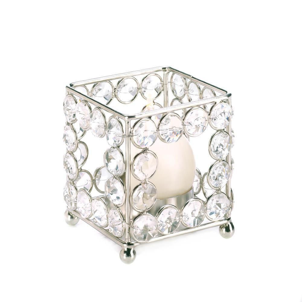 Crystal square candleholder products