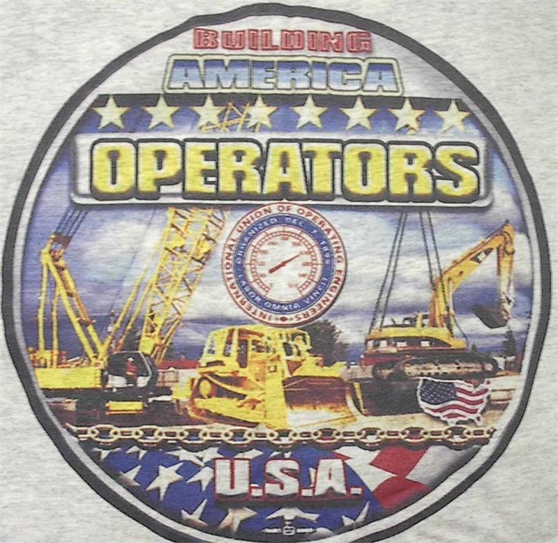 Operating Engineers Union Operating Engineers T Shirt