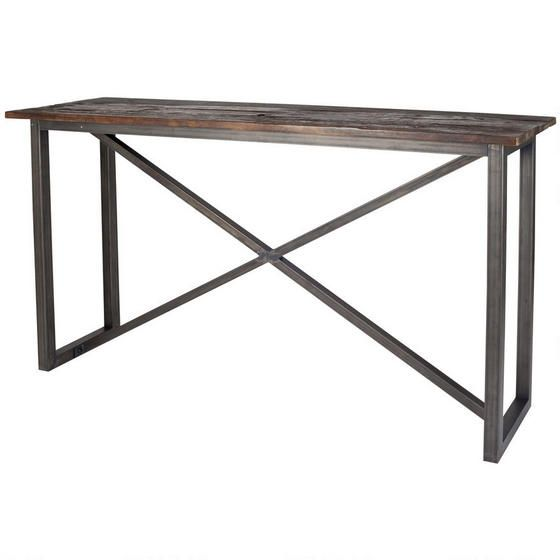 Barnwood Console Table