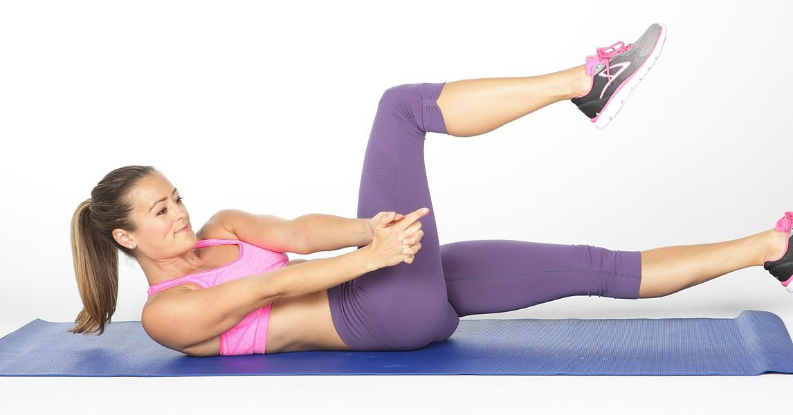 how to work middle abs