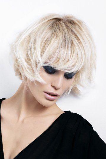 Coupe de cheveux carre degrade dessange