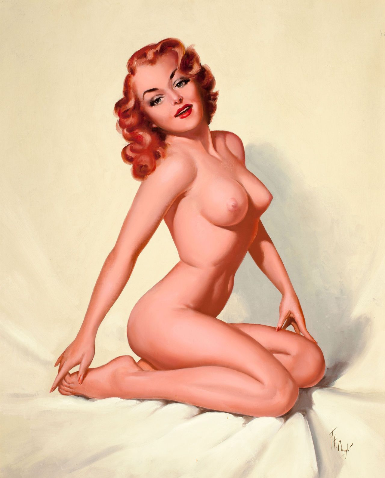 Pin Up Girls Nude