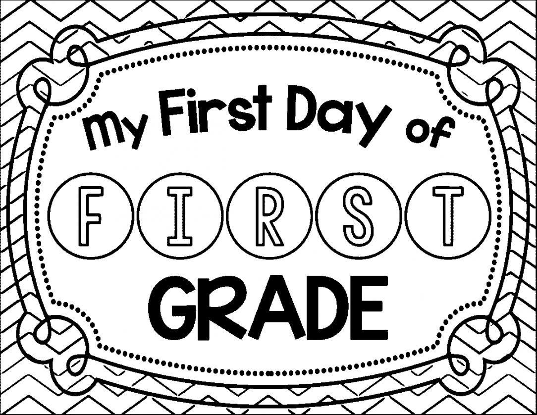 First Grade Coloring Sheets Inspirational 1st Grade