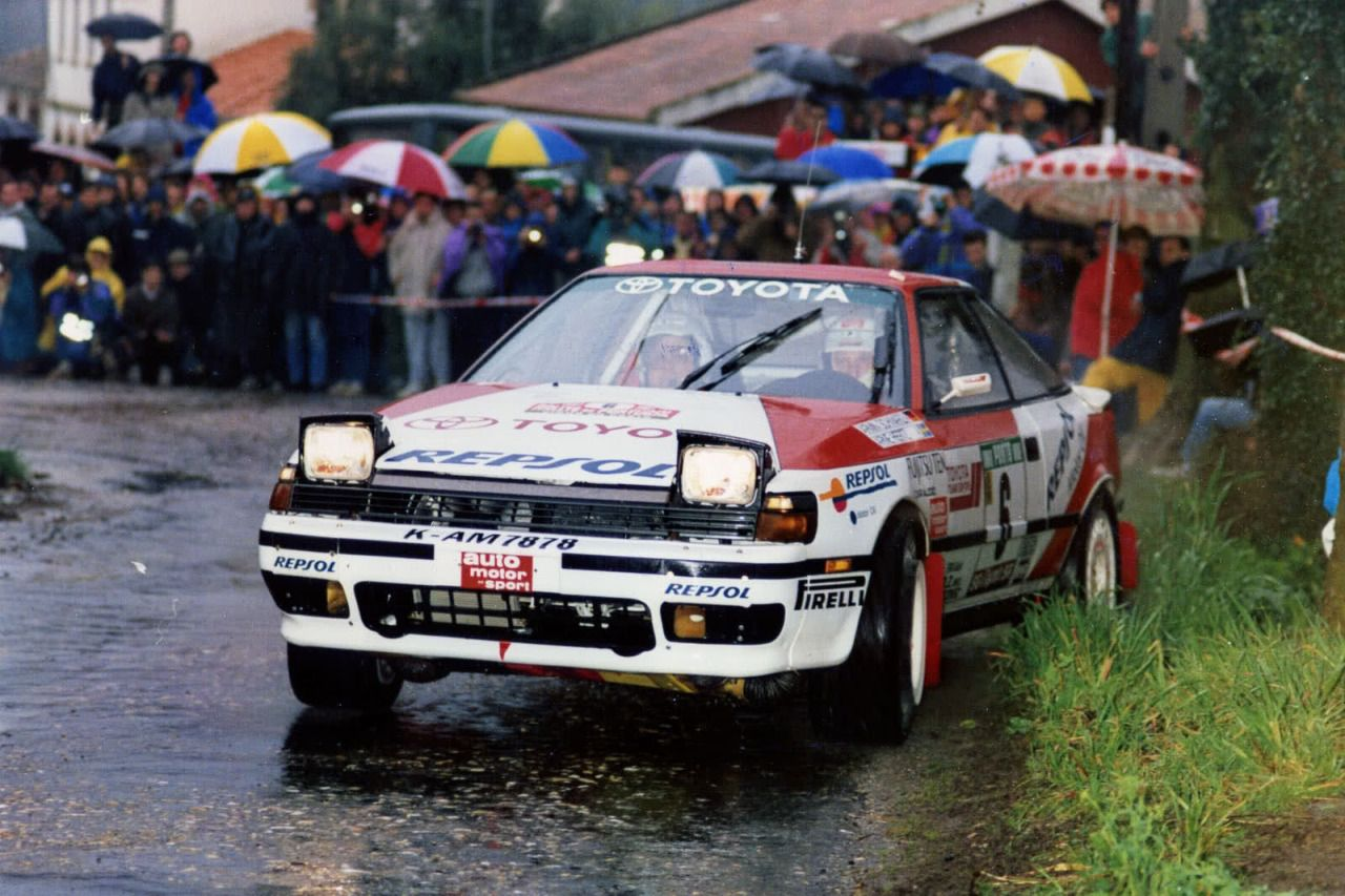 Toyota Celica GT4 rally car - Group A | TOYOTA MOTORSPORT ...