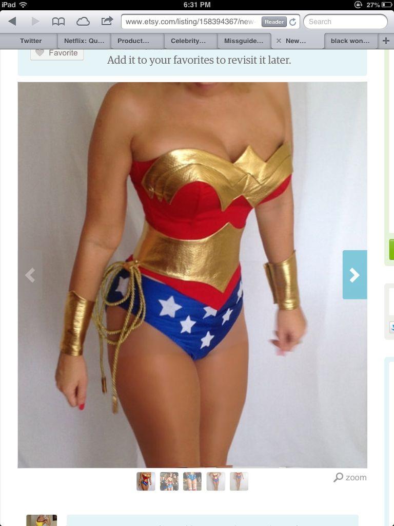 Wonder woman costume leggings-3311