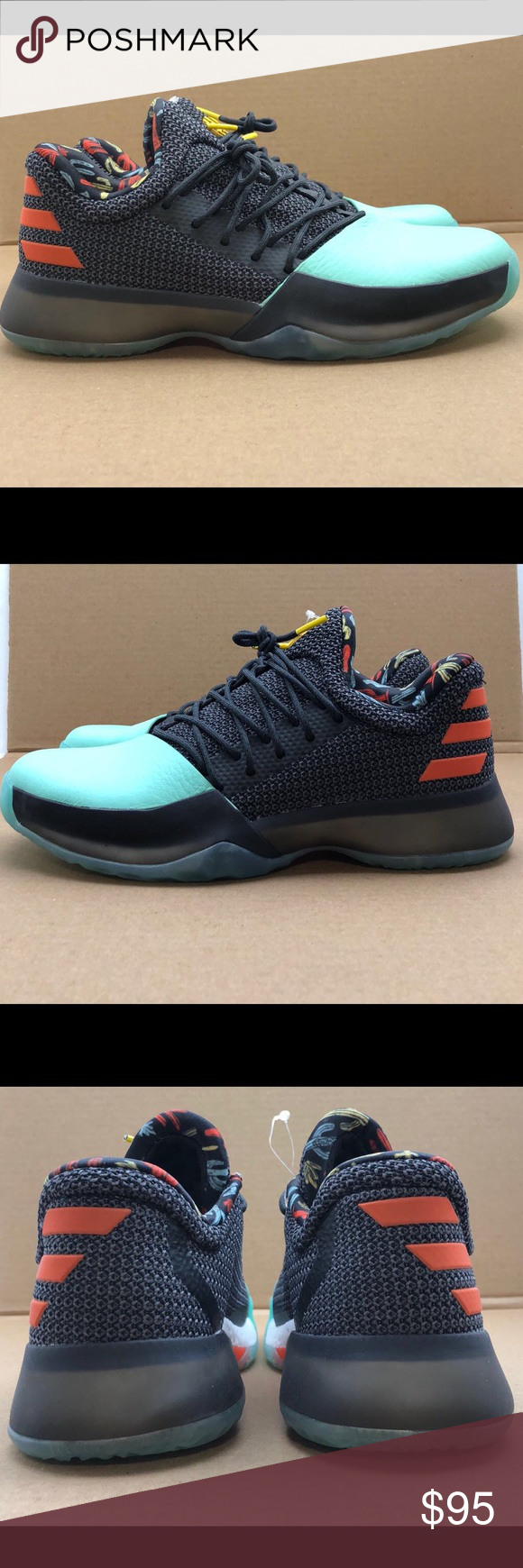 """New Adidas James Harden Vol 1 """"Cactus Kid"""" size 7Y New Adidas James Harden  Vol 1 """"Cactus Kid"""" size 7 youth NEW Without Box 7 youth size   8.5 women s  size ... 32e9e74f9"""