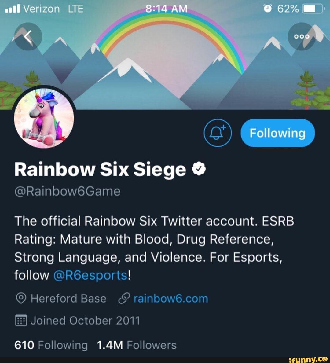 Rainbow Six Siege 9 ©Raínbow6Game The official Rainbow Six