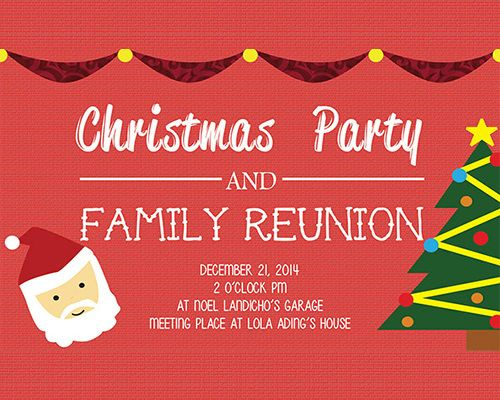 10+ Reunions Invitation Templates Free Printable Word  PDF
