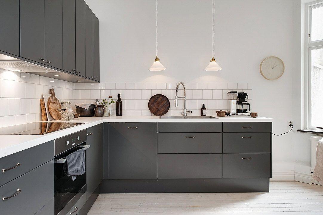 Best Graphite Gray Kitchen Kitchen Renovation Kitchen 400 x 300