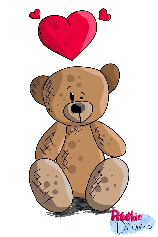 How To Draw A Cartoon Teddy Bear Easy Digital Art For Beginners Affinity Photo