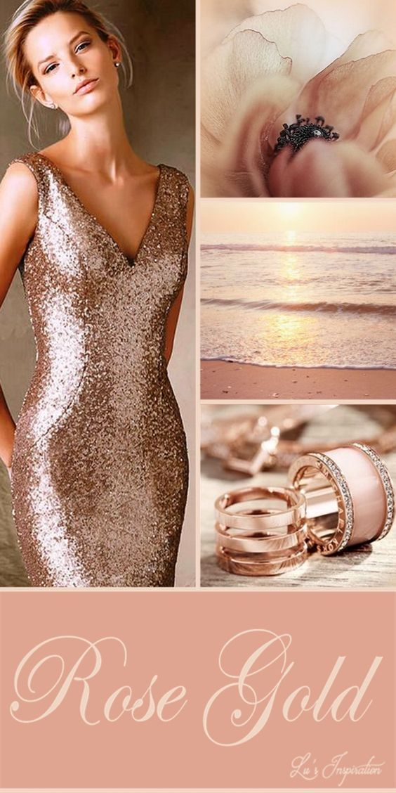 Pin by Sammie Russell 2 on Rose Gold Pinterest Occasion wear