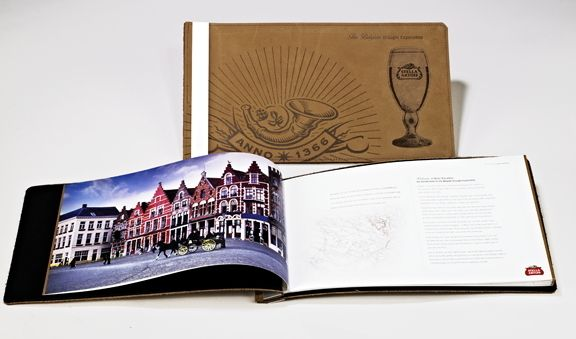 Stella Artois Leather Branding Guide by Jeff Snell, via Behance