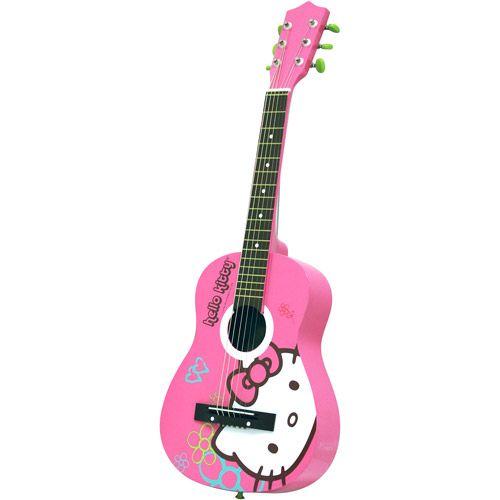 Hello Kitty Acoustic Guitar Walmart Com Acoustic Guitar Hello Kitty Kitty