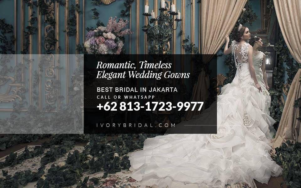 Contoh Gaun Pengantin Modern Bridal Boutique Jakarta Custom