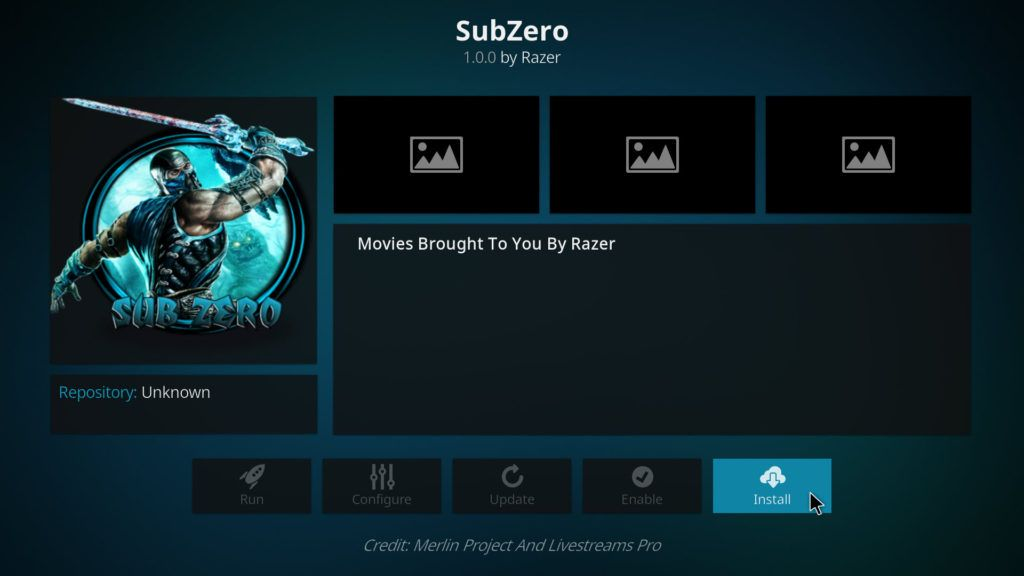 How to Install Subzero Kodi Add-on On Kodi 17 Krypton – Your Streaming TV