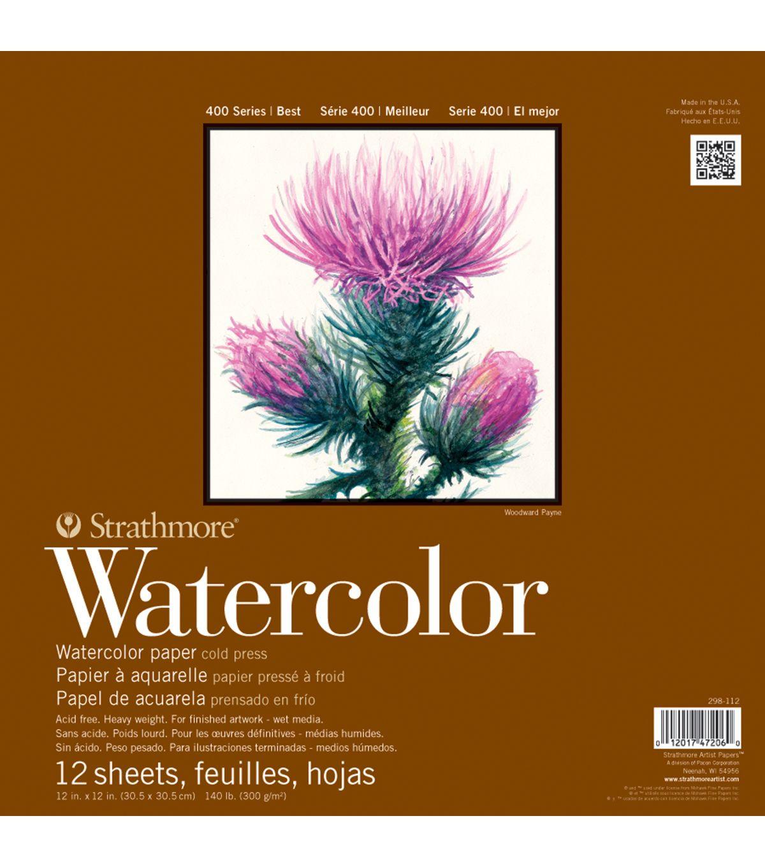 Strathmore Watercolor Paper Pad 5 5 X8 5 140lb Cold Press 12