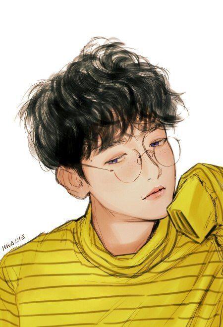 Illustrator : @HWACHE (Twitter) | Baekhyun fanart, Exo art ...