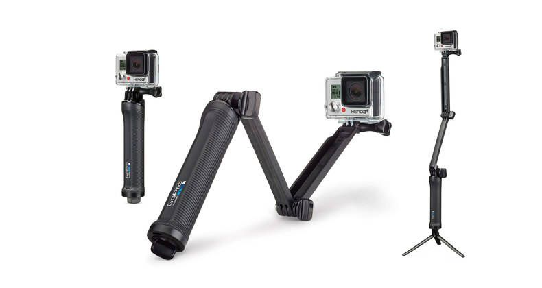 Gopro 3 Way This 3 In 1 Mount Can Be Used As A Camera