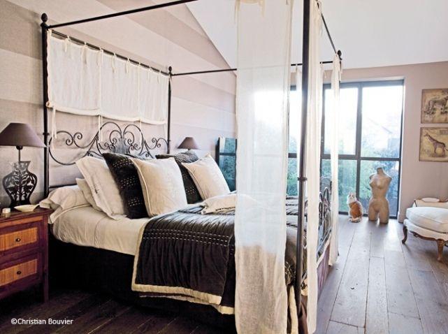 Deco chambre avec lit baldaquin - Chambre lit baldaquin ...
