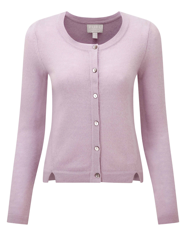 Gassato cashmere cardigan, lavender grey | tops | Pinterest | Grey ...