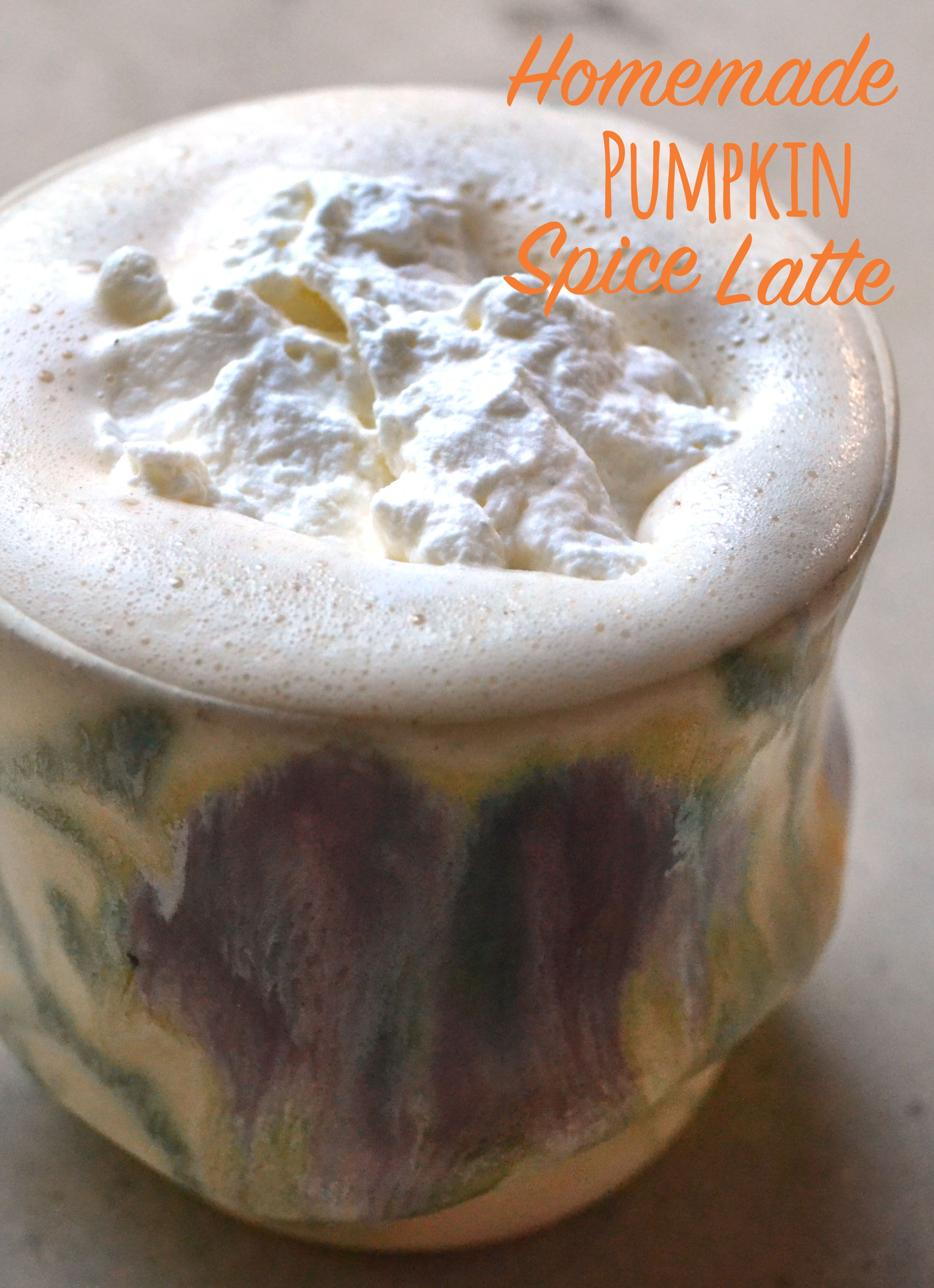 Homemade Pumpkin Spice Latte - We love pumpkin spice latte season, but they're so expensive! Making your own at home is actually really easy and SO much better!