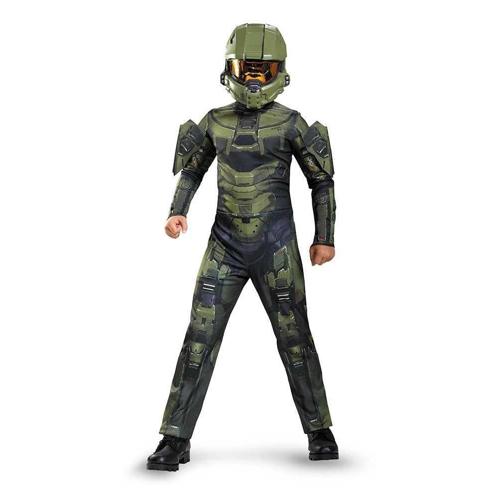 Halo Master Chief Classic Costume Child Sc 1 St Pinterest  sc 1 st  Germanpascual.Com & Halo Kid Costume u0026 17 Best Images About Halo Costume Ideas On Pinterest