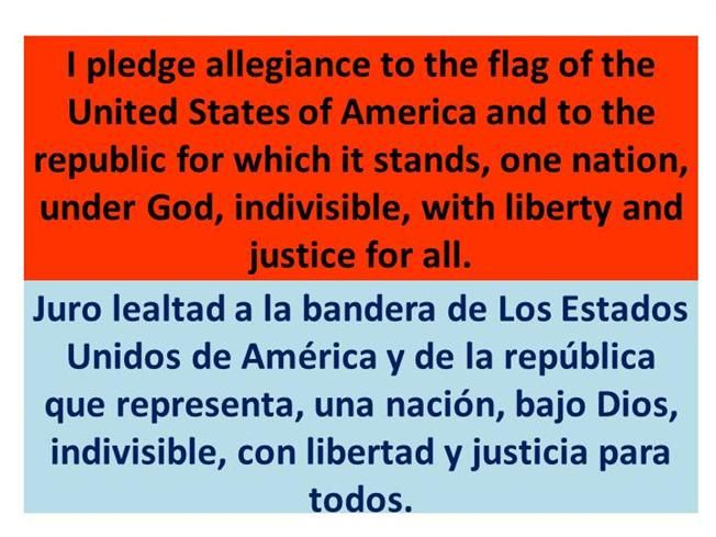 image about Pledge of Allegiance in Spanish Printable titled pledge of allegiance inside Spanish - Google Look Spanish