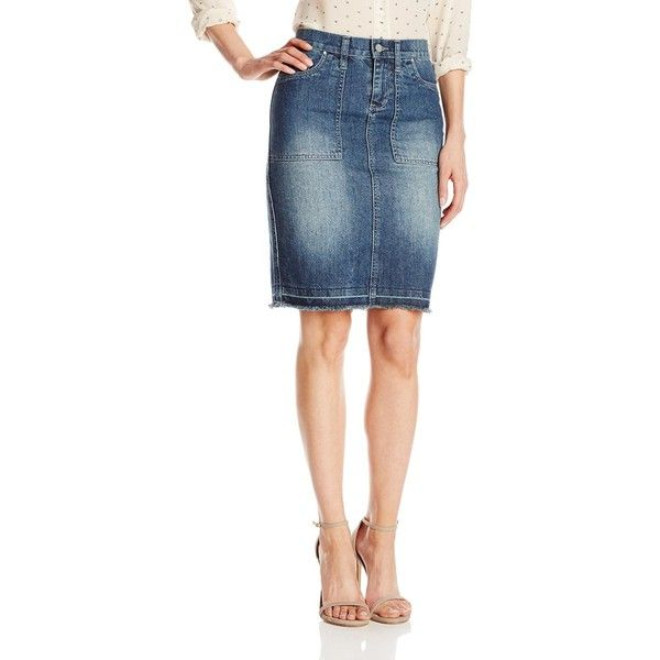 Dkny Denim Skirt