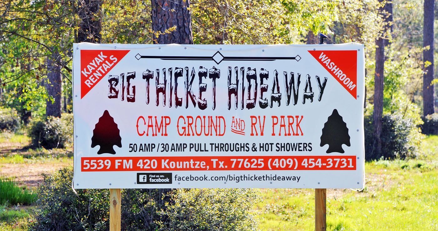 Big Thicket Hideaway Rv Park Texas 77625 Rv Parks Family Outing Park