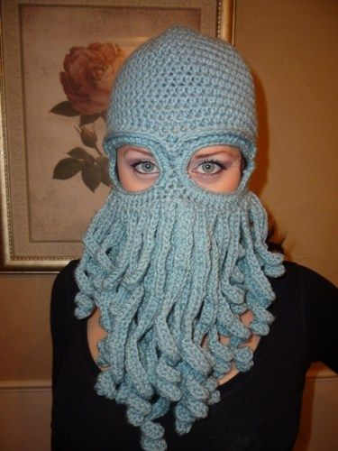 a0a59653249 Davy Jones inspired ski mask