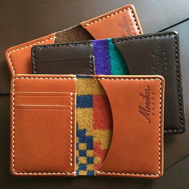 Moniker Goods-SR #leatherwallets