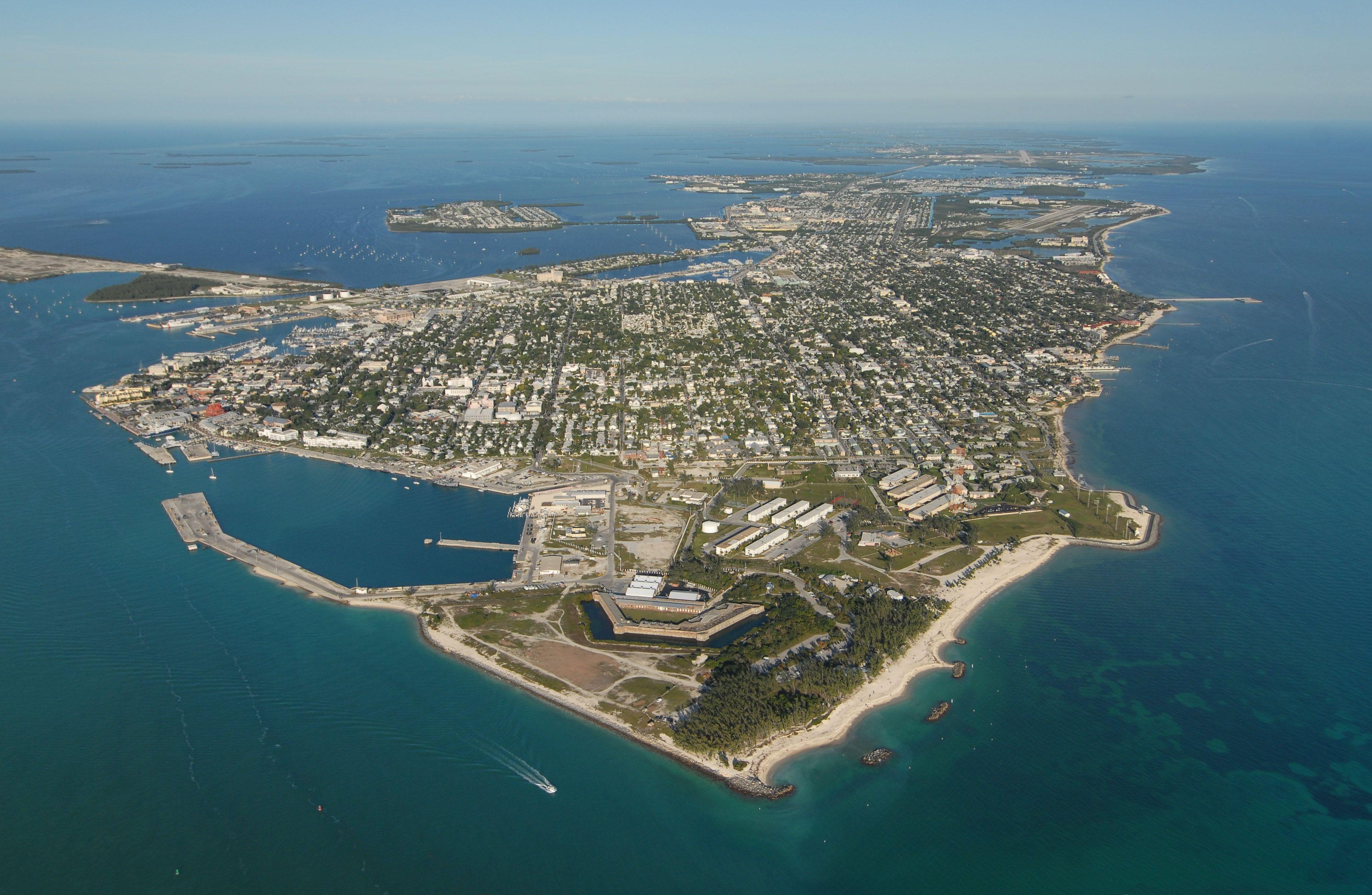 Key West (Floride - USA)  extrémité sud des USA - à 160 kms de Cuba