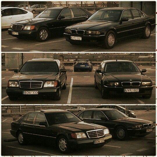 MB vs.BMW   Mercedes benz classic, Classic mercedes, Old ...