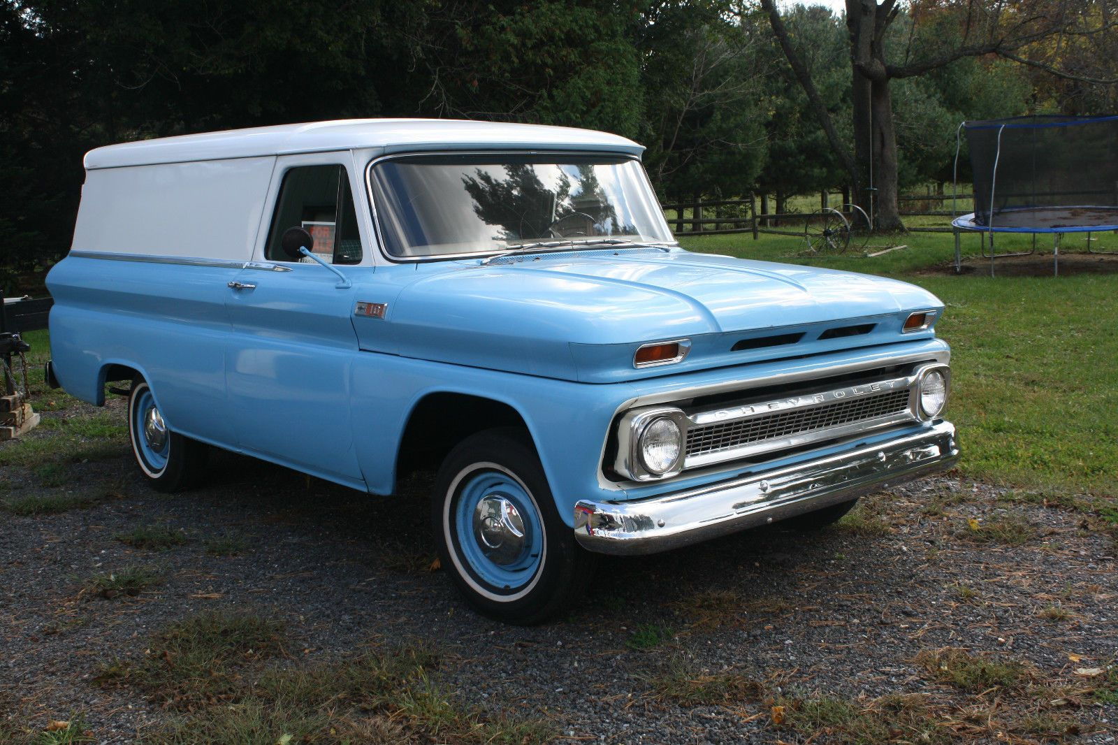 1966 Chevy Panel Delivery Classic Cars Trucks Chevrolet Trucks Panel Truck