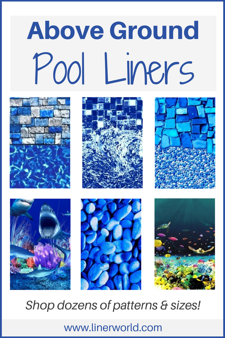 Order a Pool Liner - Overlap or Beaded Above Ground Styles ...