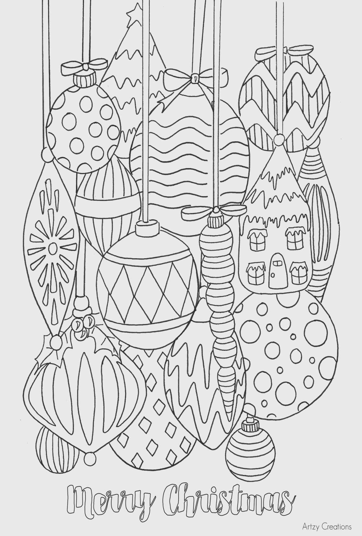 Christmas Vacation Coloring Pages Luxury Simple Fun Coloring Page Printable Christmas Coloring Pages Free Christmas Coloring Pages Christmas Tree Coloring Page