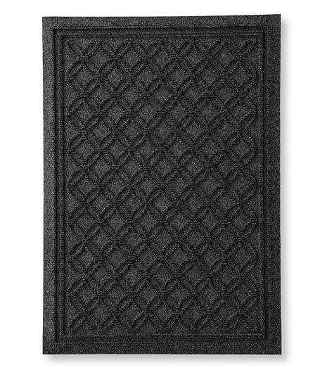 Heavyweight Recycled Waterhog Doormat Locked Circles Waterhog Mat Door Mat Recycling